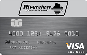Riverview Business Visa Card