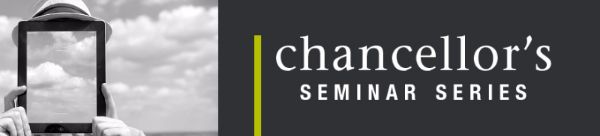 Washington State University Vancouver's Chancellor's Seminar Series Event Page
