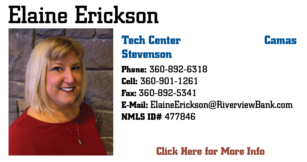 Elaine Erickson Mortgage Specialist Page