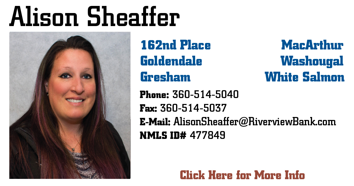 Alison Sheaffer Mortgage Specialist Page