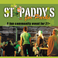 Parks Foundation's St Paddy's for Parks Event Page