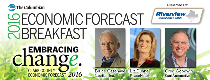 2016 Economic Forecast Breakfast Event Page