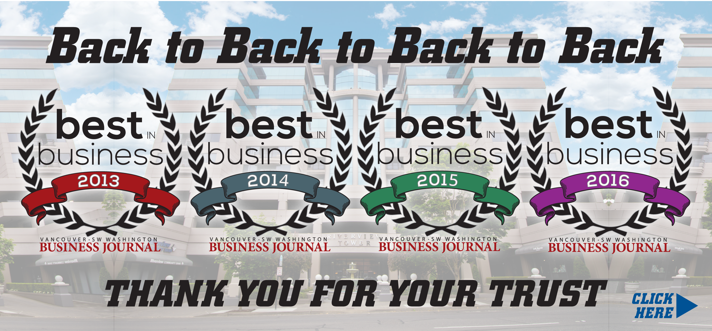 Vancouver Business Journal Best in Business Awards