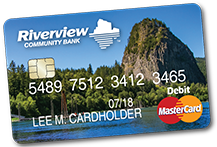 New Riverview Debit MasterCard