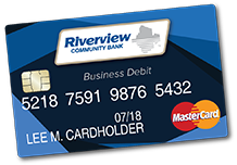 New Riverview Business Debit MasterCard