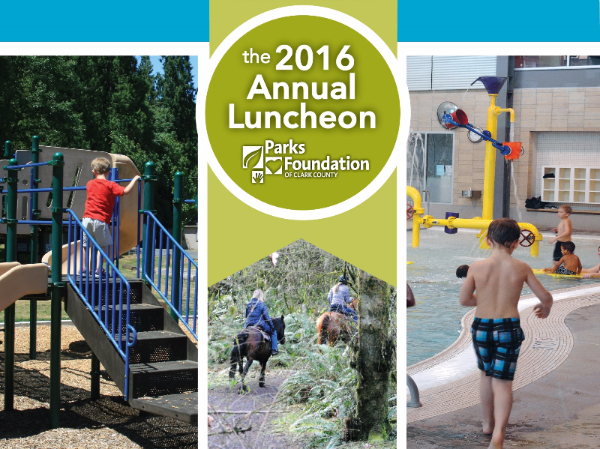 Parks Foundation of Vancouver Annual Luncheon Event Page